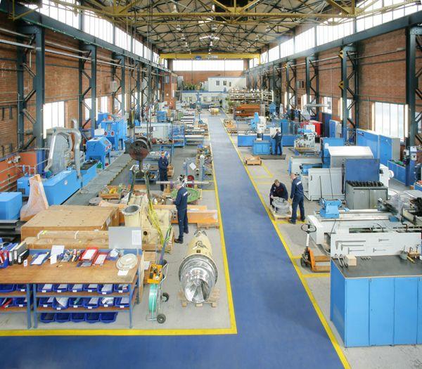 ۵S in factory