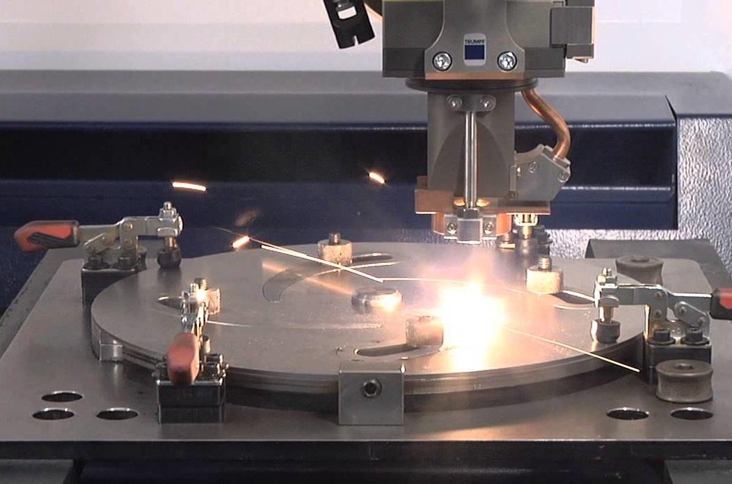 Laser welding of a fan wheel
