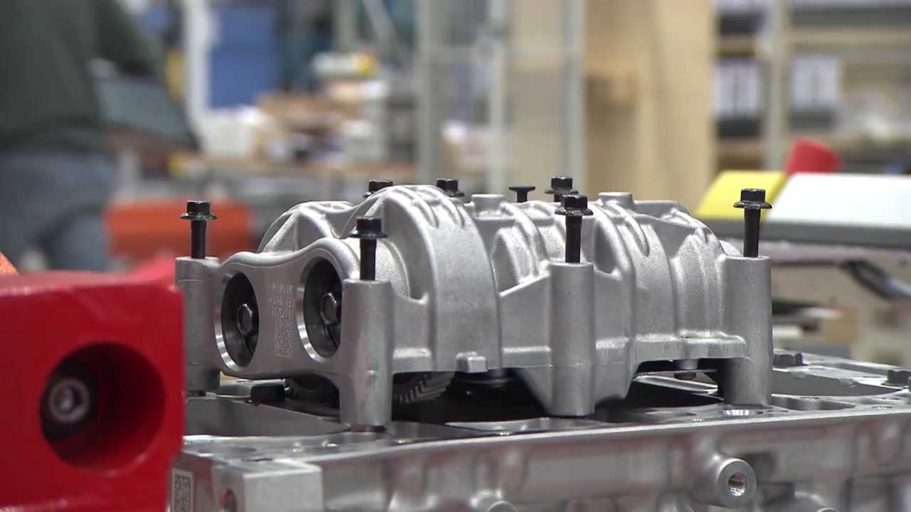 Manufacturing of Volvo Cars Engine