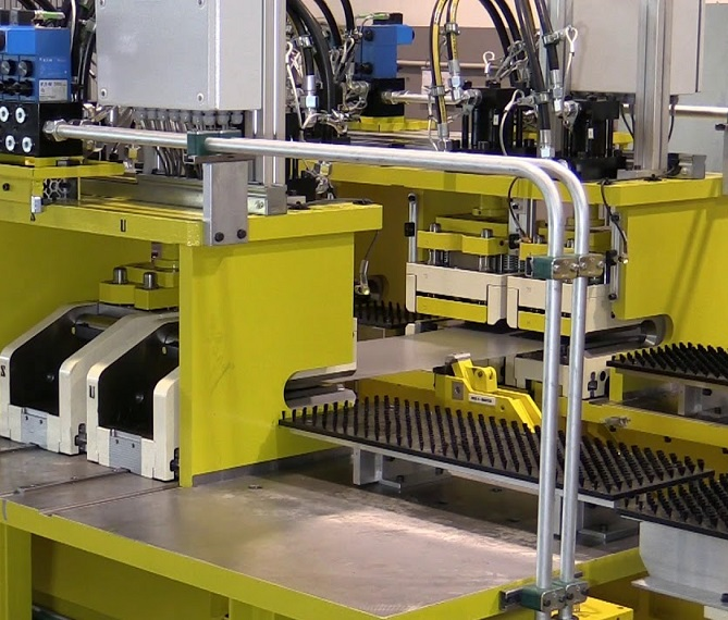 Automatic plant for the production of refrigerator doors_asremavad