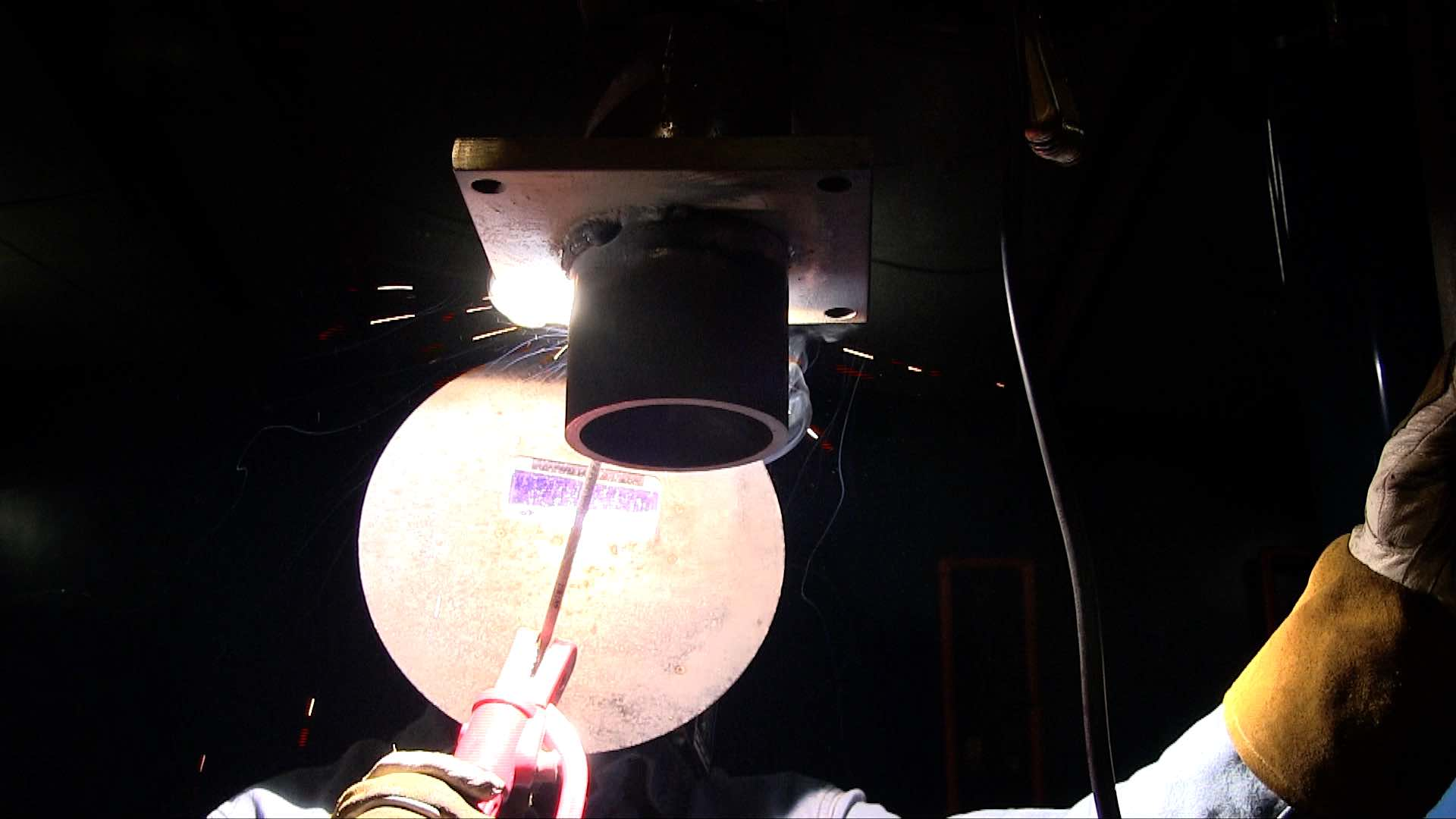 ۷۰۱۸ Overhead welding_asremavad
