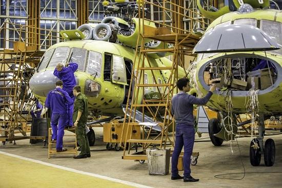 Kazan Helicopters' production plant_asremavad