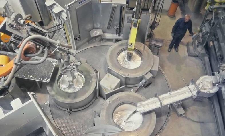 Automated gravity die casting_asremavad