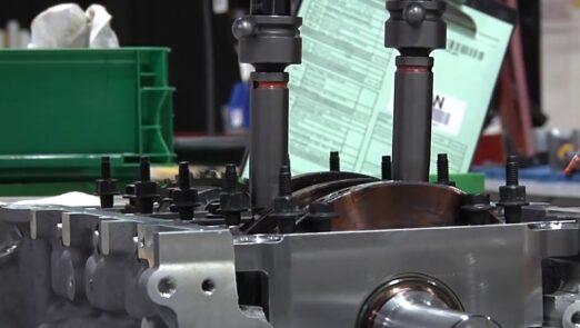 Chevrolet Corvette V8 Engine Assembly