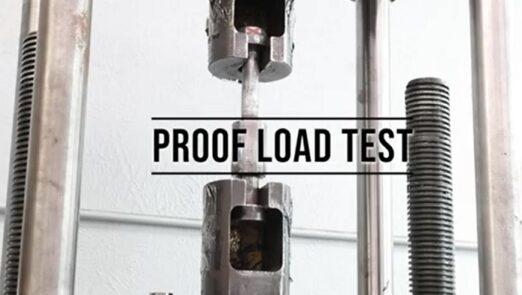 Proof load test_asremavad